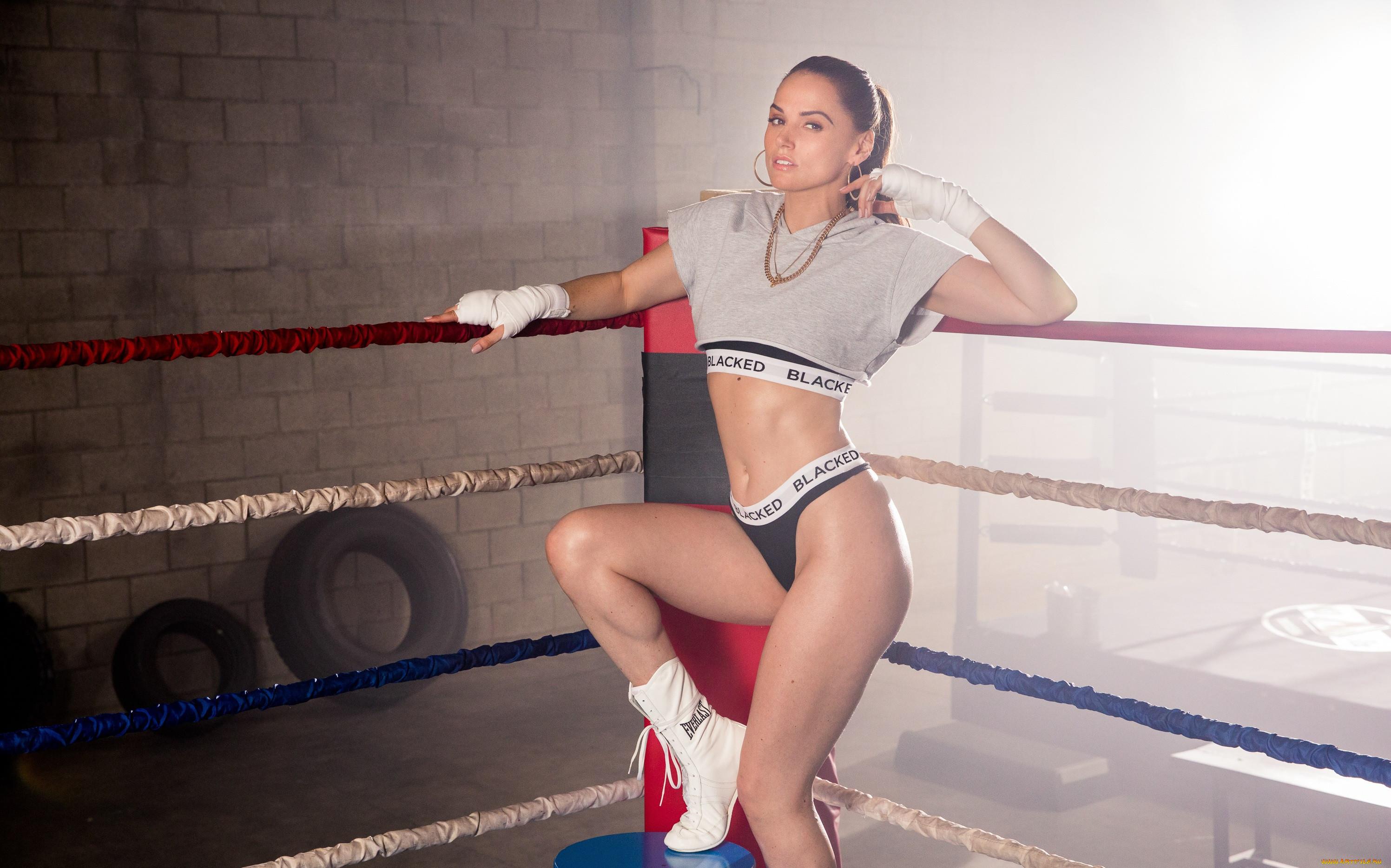 спорт, бокс, девушка, взгляд, sexy, naked, blacked, boxing, tori, black, фон